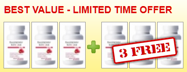 3 Months FREE Supply of Raspberry Ketone